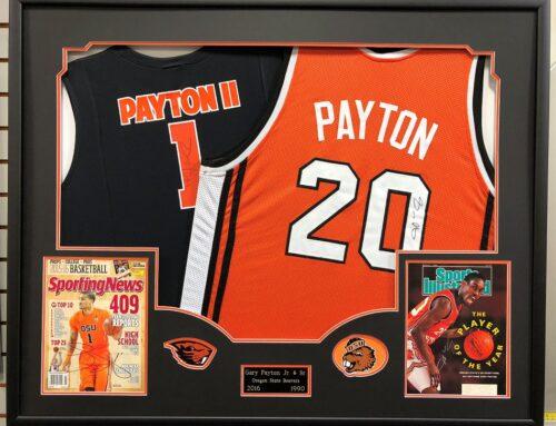 Gary Payton Jr. & Sr. Jerseys