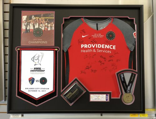 Portland Thorns Jersey Collage