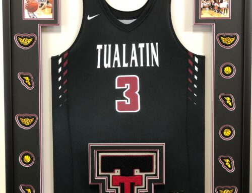 Tualatin High Jersey with Letter