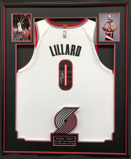 Signed Michael Jordan Framed Canvas – Collection Connection